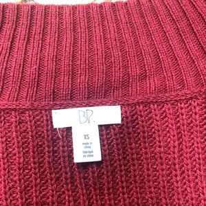 BP Nordstrom Holiday red sweater  (xs)